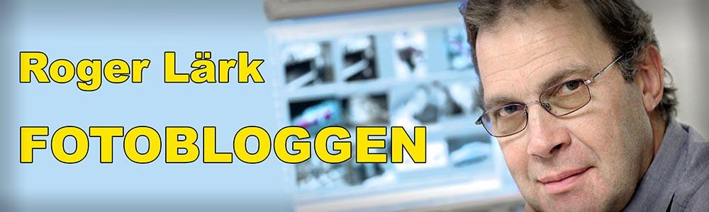 Roger Lärk – Fotobloggen Logotyp